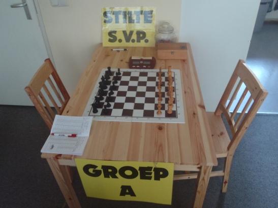 Géén schaken deze week in Emmen?