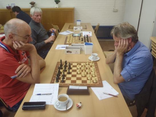 Drie kanshebbers op het kampioenschap bij elkaar
