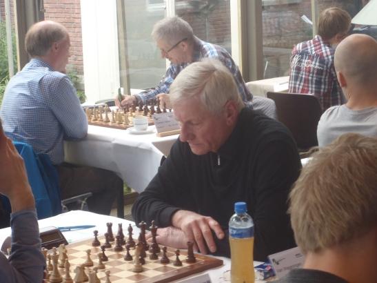 Arie zorgde voor de verrassing. Winst op FM Henk van der Poel (2246)