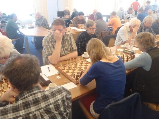 Bastiaan tegen Lisanne Waardenburg 1-0