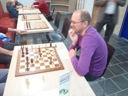 Willem heeft ondanks verlies nog pret.