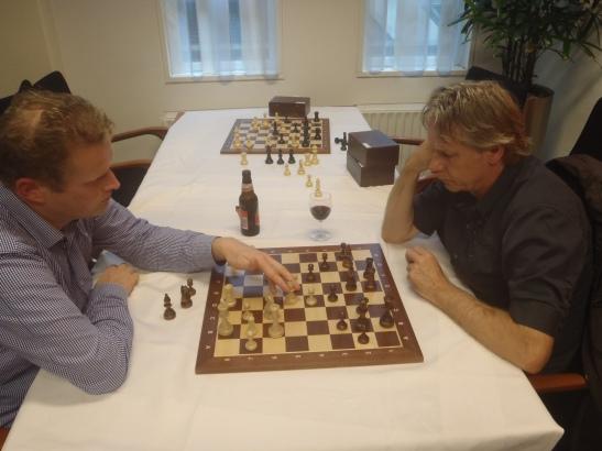 Herman analyseert met Christiaan Mol