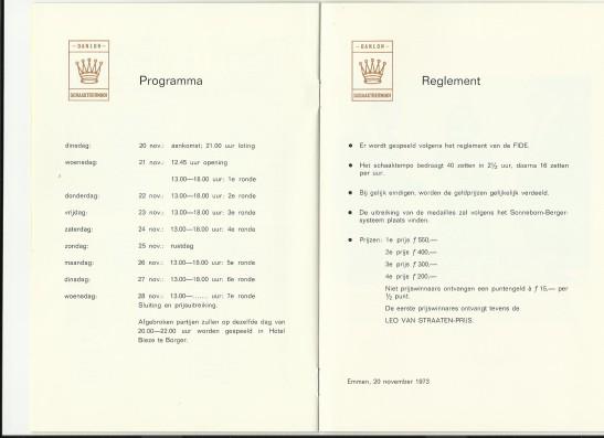 deel 4 toernooifolder 1973