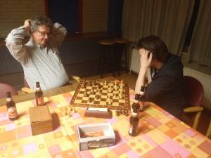 Ton geeft schaakles