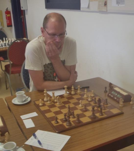 Willem in de zesde ronde op weg naar een nederlaag.