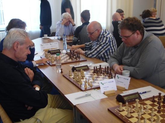 Bastiaan tegen Ben Poelstra