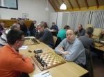 Roland Kroezen zorgde voor de enige winst aan Sissa-zijde. Bart verloor als eerste.