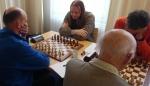 Marcel speelde een partij met wisselende kanten.