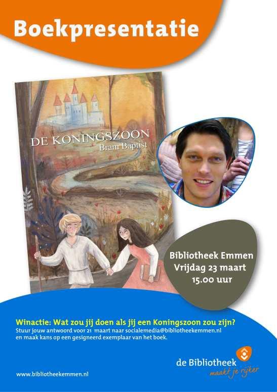 2018-03-23 Boekpresentatie Koningszoon-2-1