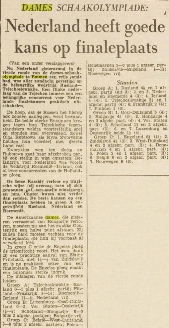 dames olympiade emmen 1957 democratisch- sosialistisch dagblad (2)