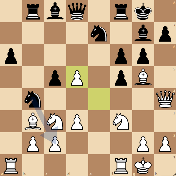 13e r Blitz Chess • brinkyjw vs Hermanv
